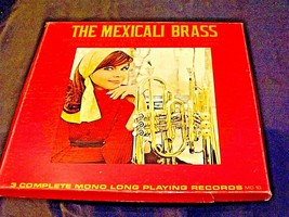 ARA The Mexicali Brass. Three complete mono long-playing record AA19-1501 Antiq image 2