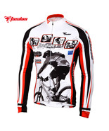 Tasdan Cycling Wear  Cycling Jersey Long Sleeve Winter Bicycle Clothing ... - €95,15 EUR