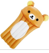 Rilakkuma Classic Face Design Inflatable Beach Lounger by San-X Free Shi... - $54.32