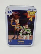 Cardinal Disney Pixar Toy Story 4 - 24 pc Puzzle in Tin - New - $7.99
