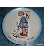 """Vintage Sister Bertha Hummel Mother's Day 1976 Plate """"Devotion for Mothe... - $10.66"""