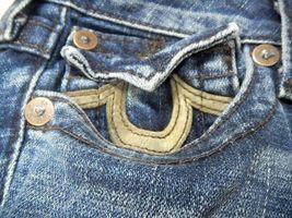 True Religion Women's Denim Jeans Joey Leather Pocket 83 - Med Savana 10503VNL image 7