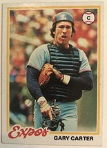 Gary Carter (d. 2012) Signed Autographed 1978 Topps Baseball Card - Mont... - $14.84