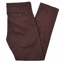 New Polo Ralph Lauren Chino Classic Fit Flat Front Pants 30-40 Red Wine Plum - $60.73