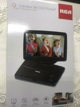 """RCA 9"""" PORTABLE DVD PLAYER with  swivel SCREEN  - $89.05"""