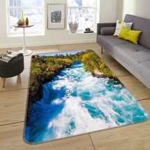 3D Forest River 103 Non Slip Rug Mat Room Mat Quality Elegant Carpet US ... - $69.76+