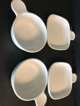 Corning Ware Two P-185-B Grab It Luncheon Plates Two P-150-B Grab It Bowls - $24.74