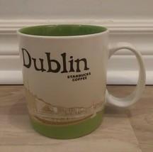 STARBUCKS COFFEE DUBLIN IRELAND Coffee Mug 16 oz 2015 Ha'Penny Bridge Ei... - $46.49