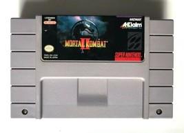 ☆ Mortal Kombat II 2 (Super Nintendo 1991) AUTHENTIC SNES Game Cart Tested Works - $18.99