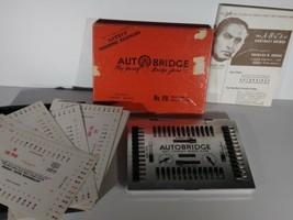 Vintage Complete 1959 Auto Bridge Autobridge Play-Yourself Card Game Set  - $5.84
