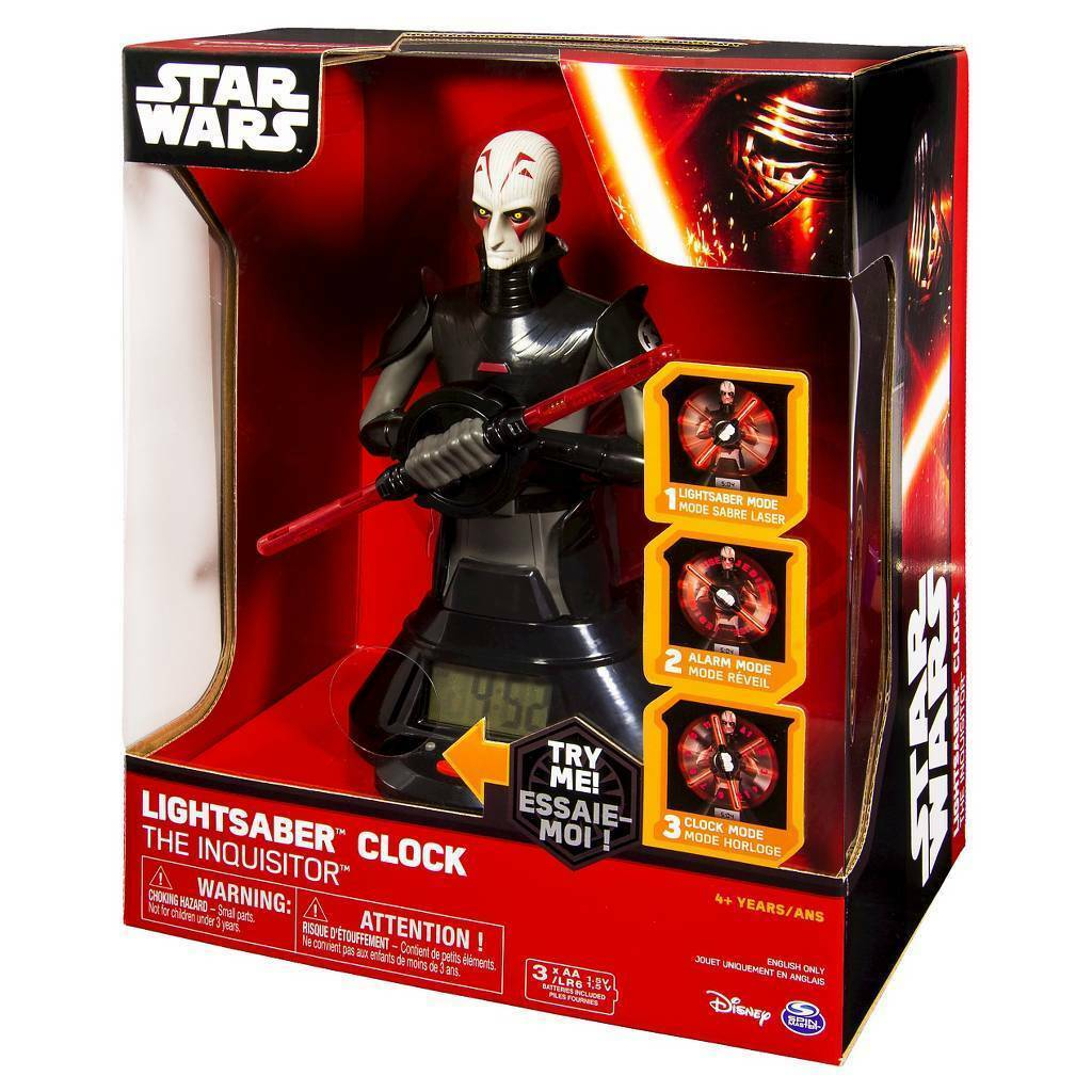 Star Wars The Inquisitor Lichtschwert Uhr Unisex