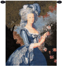 Marie Antoinette with Rose European Wall Hangings - $104.85
