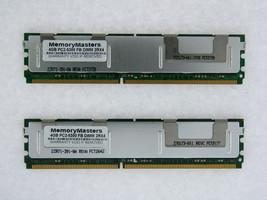 8GB 2X4GB Kit hp Hewlett Packard Compaq PC2-5300 DDR2 ECC Fb Dimm Mémoir... - $52.74