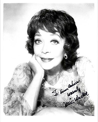 "Primary image for Marie Windsor (d. 2000) Signed Autographed ""To Anne"" Glossy 8x10 Photo - COA Mat"