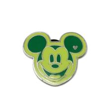 Disney Pins 2008 Hidden Mickey 3 of 5 Colorful Mickeys Green - $6.79