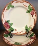 Franciscan Apple 2 Dinner Plates 10.75 England Backstamp- I HAVE MORE PI... - $37.39