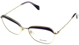 Miu Miu Eyeglasses Frame Women Violet Rectangular MU51NV TFI1O1  - $236.61