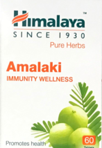 Amalaki for Immunity Wellness  60 herbal Tablets himalaya - $13.01