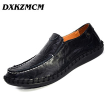 Shoes on Men Luxury DXKZMCM2018 Slip Casual Men Mocassins Loafe Brands Handmade wyYIwq7Pf