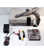 Original NES Nintendo Console NES-001 Zapper Light Gun & Robocop Bundle  - $49.49