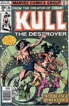 Kull The Conqueror Comic Book #26, Marvel Comics 1978 NEAR MINT - $10.69