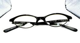 Oliver Peoples OP-609 BK Black 51-17.5-143 Cateye Eyeglasses Frames Japan - $99.49