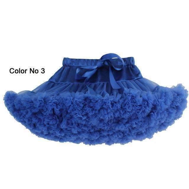 Fluffy Frill Ribbon Women Mini Tutu Skirts