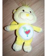 "9"" Care Bear Cousin Playful Heart Monkey Plush Yellow Heart Tummy Party ... - $16.00"
