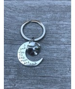 Softball Love You to the Moon and Back Keychain - $10.00