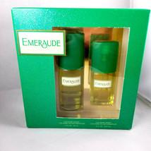 Emeraude 2 Bottle Gift Set 2 Oz Cologne Spray & .8 Oz Cologne Spray - $30.84