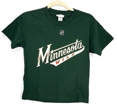 Minnesota Wild T Shirt Kids Size Small HEATLEY name on back Printed Reeb... - €8,06 EUR