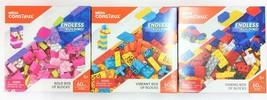 Mega Construx Endless Building Brick Blocks Set of 3 Boxes Toy Deal - $12.92