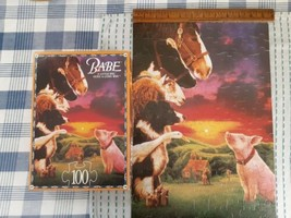 Vintage PRE-OWNED Babe 100 Pc Jigsaw Puzzle, Complete, Excellent Condition - $9.90