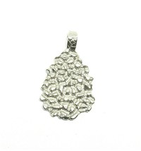 STERLING SILVER NUGGET PENDANT #13G200226 - $43.00