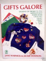 1992 GIFTS GALORE CRAFT BOOK  WARNICK & DODSON KNIT SEW - $6.92