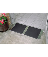 Threshold Ramp Aluminum Doorways Wheelchair Entry Access Anti Slip 10 in x 32 in - $58.85