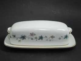 Noritake Elmdale Covered 1/4 pound Butter Dish - $28.96