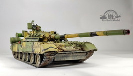 Russian T-80U MBT 1:35 Pro Built Model - $222.75