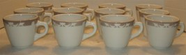 12 Vtg Syracuse China Restaurantware Ironstone Coffee Tea Mugs Cups 94-8... - $28.71