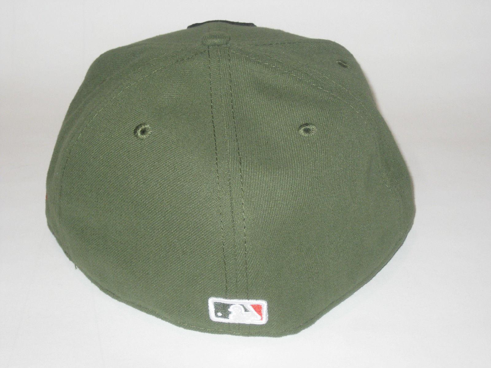 ec47e29da39da NEW ERA SAN FRANCISCO GIANTS RIFLE GREEN FITTED HAT CAP 7 1 4 59FIFTY  BASEBALL