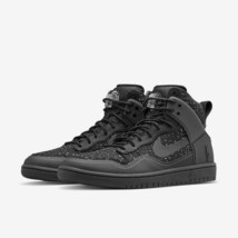 Nike Dunk Lusso Sp Pigalle Alto Nero Hyperfuse UK 8/9 Nuovo in Scatola 100% - $223.70