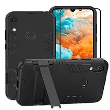 FaDream for Huawei Y6 2019 / Honor 8A Case, 2 in 1 Shockproof Hybrid Dua... - $9.50