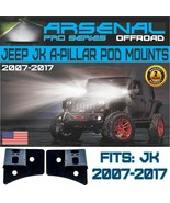 Arsenal Offroad #1 Jeep JK A-Pillar Windshield Hinge Mount Brackets (2 pcs) - $17.78