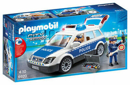 Playmobil Squad Car with Lights and Sound - $42.99