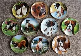 "10 Danbury Mint ""Boxer' Collector Plates - $150.00"