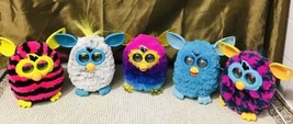 Lot of 10 Tested Tiger Electronic Furby Booms Collectible Furry Colorful... - $265.32