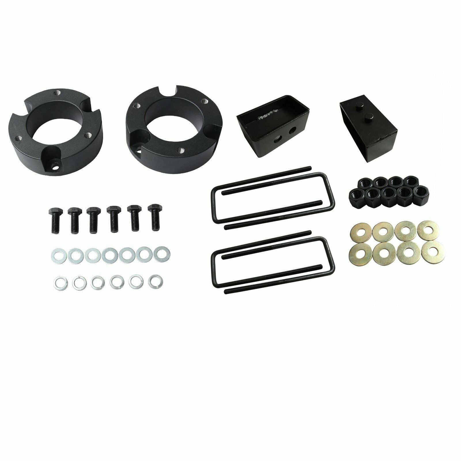 "For Toyota Tacoma 2"" Front 2"" Rear Leveling Lift Kit 4WD 2WD 2005-2018 Black - $69.44"