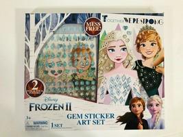 Disney Frozen II Gem Sticker Art Set with Two Peel and Stick Posters Kids Cratfs - $8.99