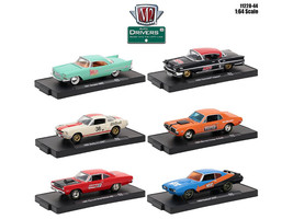 Drivers 6 Cars Set Release 44 In Blister Packs 1/64 Diecast Model Cars by M2 Mac - $48.82