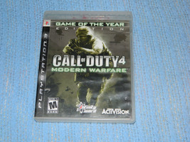 Call of Duty 4: Modern Warfare -Game of the Year Edition / Sony PlayStat... - $9.46
